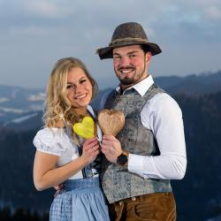 Unser Ledigenball-Traumpaar 2018 - Doris Flicker und Günther Schneller